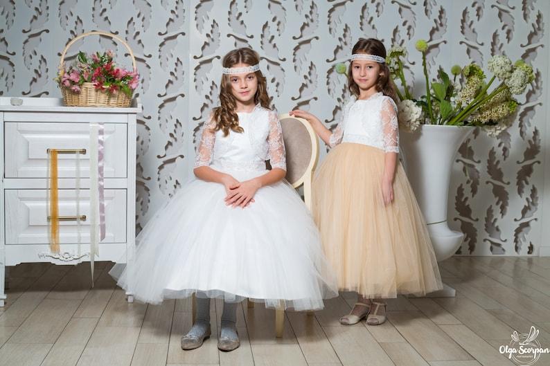 a066bec2c Gorgeous flower girls dress flower girl dresses party dress | Etsy