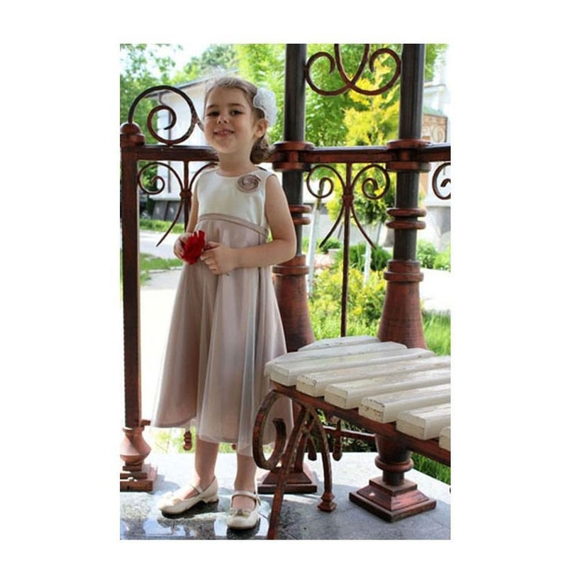 7c170e12c Ready to ship Sample sale girls dress. Unique dress for | Etsy