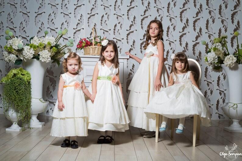 eb81af2db Flower girls dress flower girl dresses party dress for | Etsy