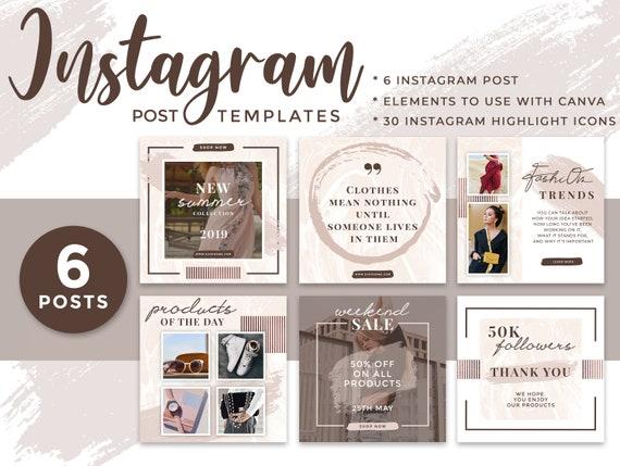 30 Instagram Story Highlights Icons Social Media Marketing Etsy