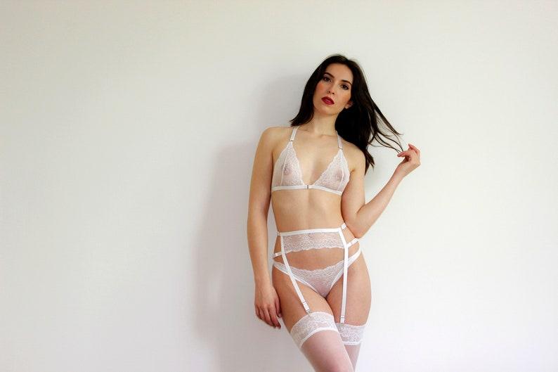 54352fd072a Women Lingerie Set,Sheer Lingerie Set,Lingerie,Sheer Lingerie,Erotic  Panties,Women White Panties,Sexy Garter Belt,Lace Bra,Women Underwear