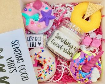 Birthday Gift Box Custom Gifts For Her Cake Friend Spa Mom Sister