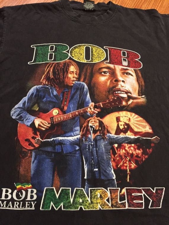 Vintage 90s Bob Marley Rap Tee