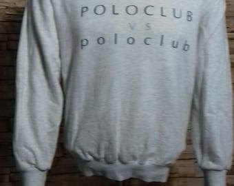 Vintage polo club sweatshirt medium size