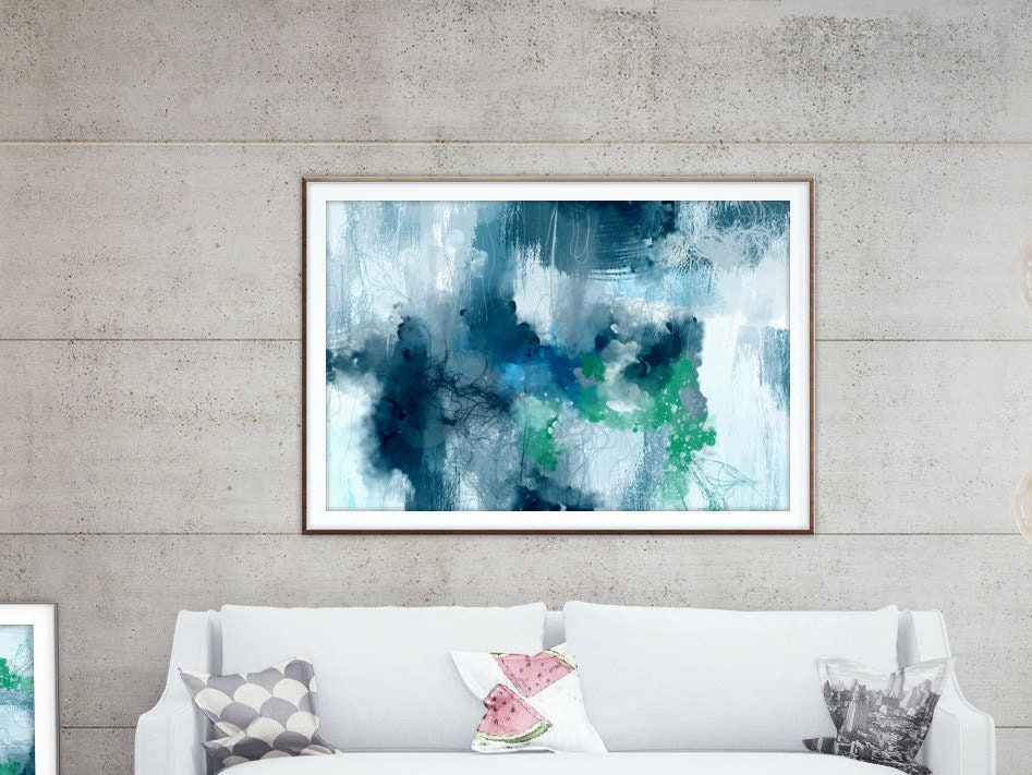 Extra large wall art.XXL abstract downloadable prints. Large ...