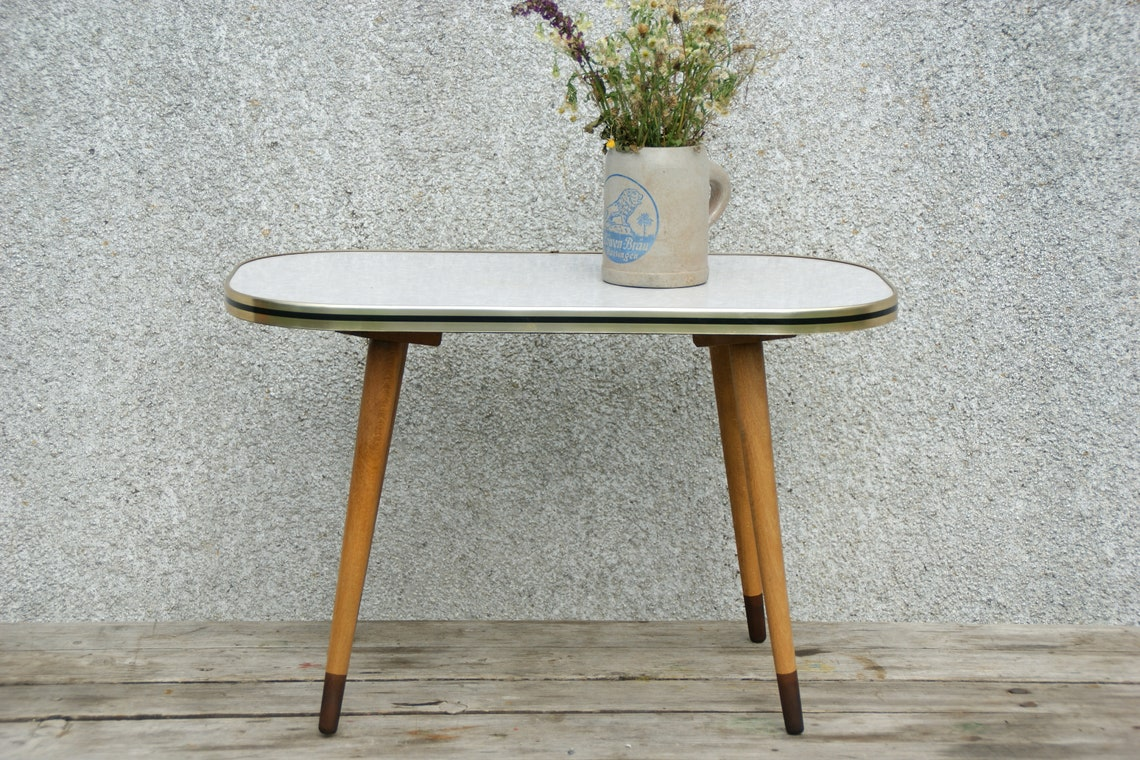 1950s, small side table, West Germany