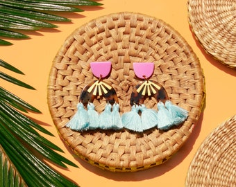 Emilia Tassel Earrings