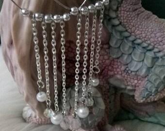 gorgeous dangle hoop earrings