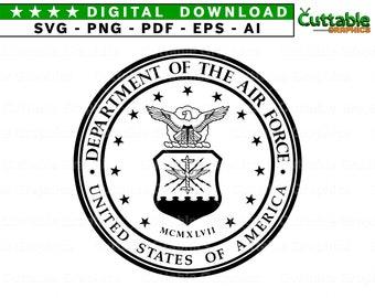 Air force logo | Etsy