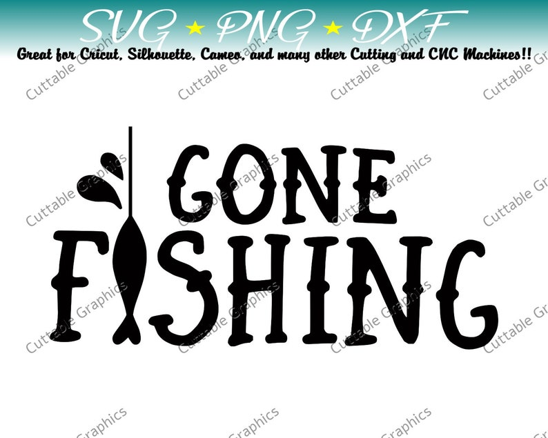 Download Gone Fishing Svg Metalworking Craft Supplies Tools