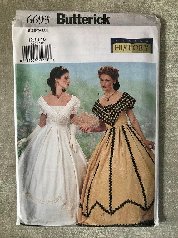 Damen-historisches Kostüm-Schnittmuster / Theater bürgerlichen | Etsy