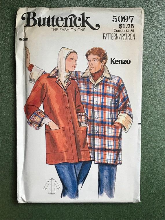 70er Jahre Mantel Schnittmuster / Jahrgang 1970 Butt / Damen | Etsy