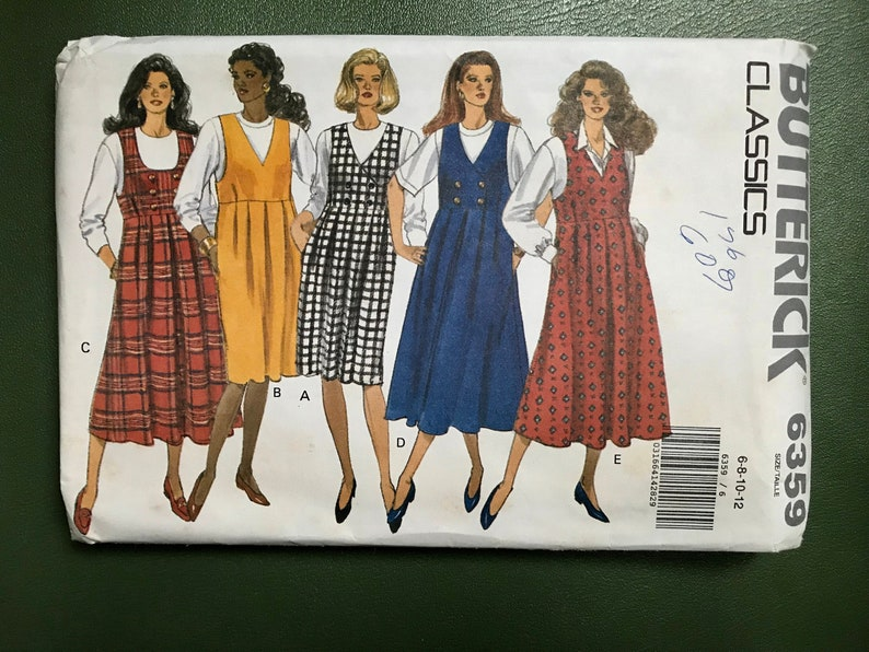 1dcfba24406 Maternity Sewing Pattern   Vintage 80s Maternity Jumper