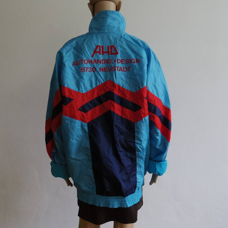 a8f568fb66b Old School Adidas Shell Hardcore Jacket Gabber Nylon Tracksuit