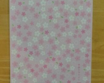 Japanese letter pad (Sakura/Washi paper)