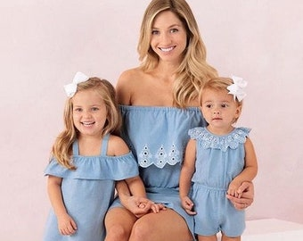 613a3934d3e Mommy and me dress