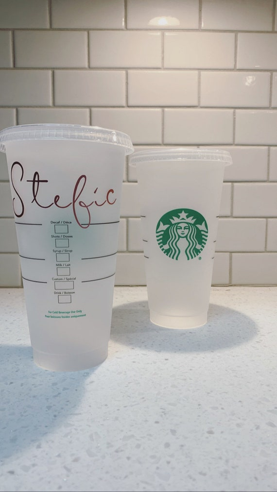 Starbucks Name Cups by Etsy