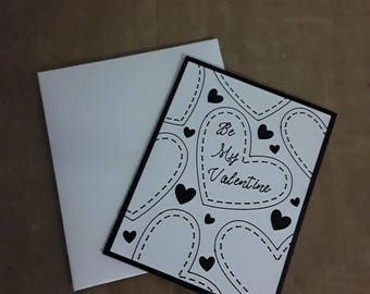 Be My Valentine Greeting Card, love card