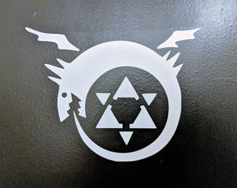Fullmetal Alchemist Ouroboros Decal