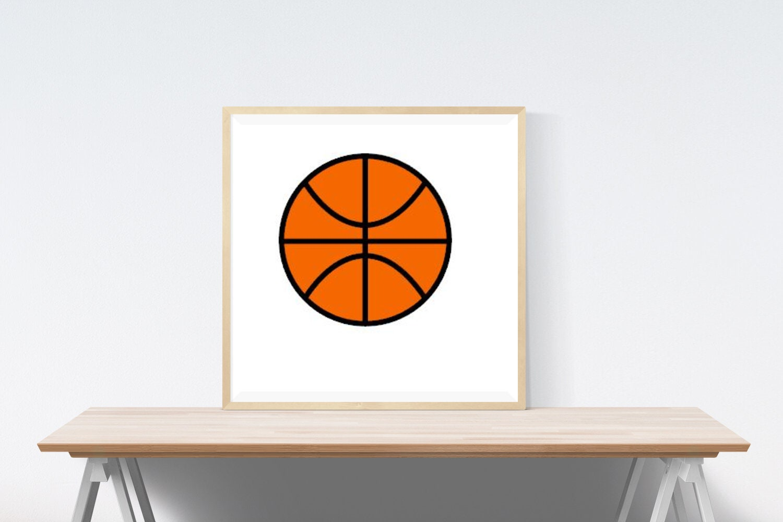 Basketball Instant Download including SVG PDF and JPG File