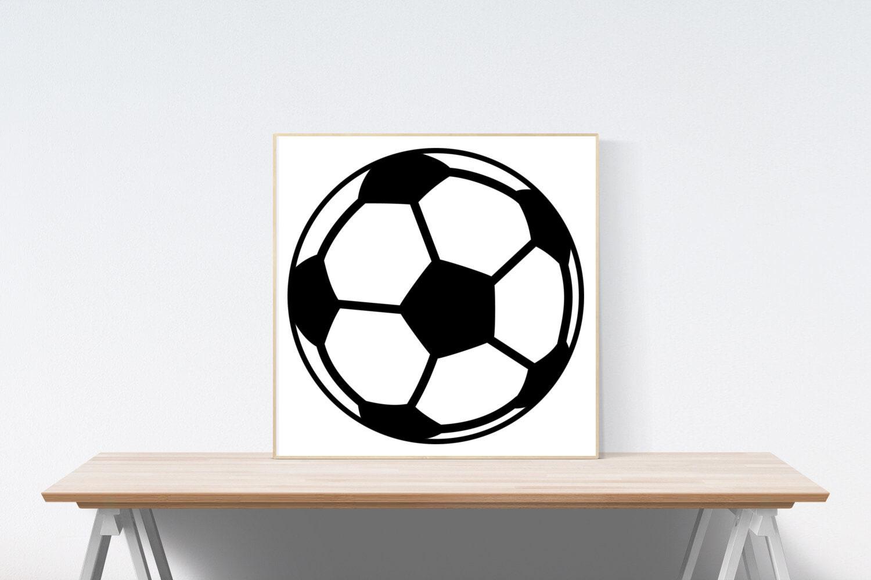 Soccer Ball Instant Download including SVG PDF Png Jpg File