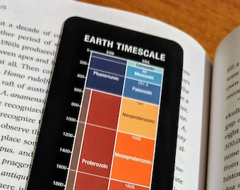 Geologic Timescale Bookmark