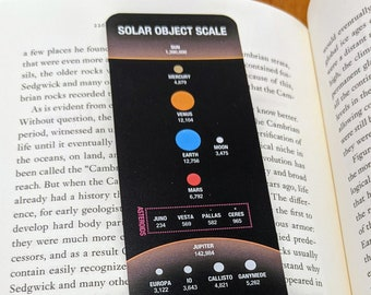 Scale of the Solar System Bookmark