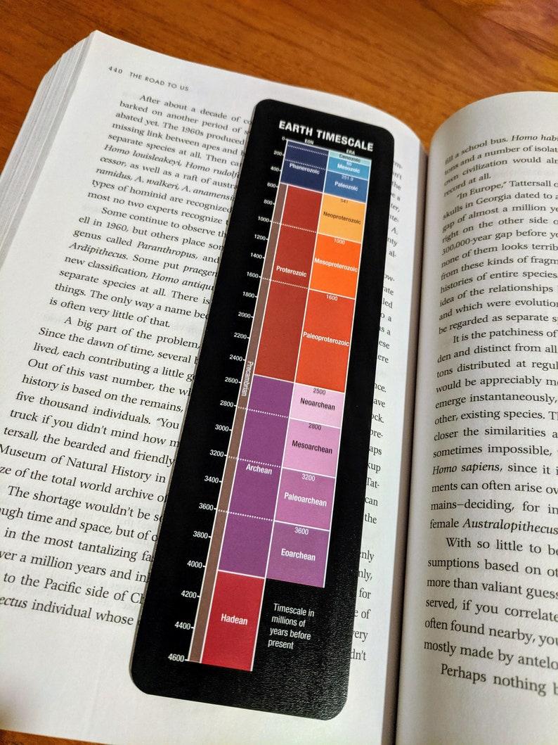 Geologic Timescale Bookmark image 0