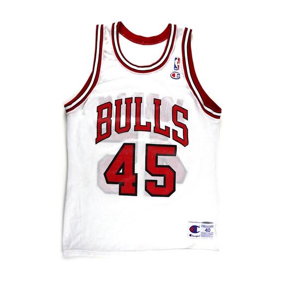 Vintage Michael Jordan Chicago Bulls #45 Champion Jersey