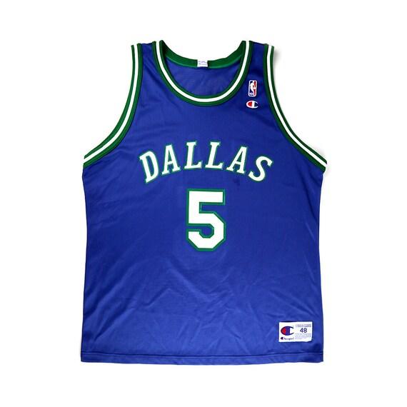Vintage Jason Kidd Dallas Mavericks Champion Jersey
