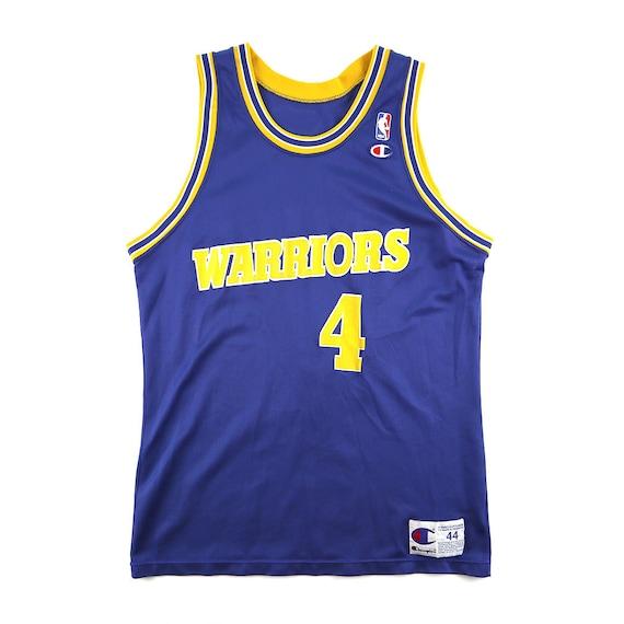 Vintage Chris Webber Golden State Warriors Champion Jersey