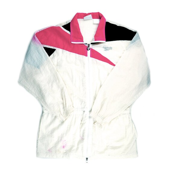 Vintage Reebok Long Windbreaker Jacket