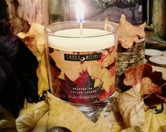 Autumn infused candles
