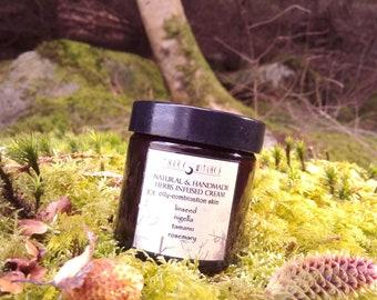 Herbs infused moisturizing light cream