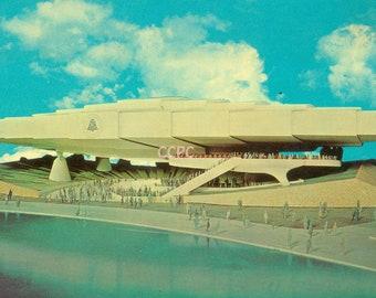 New York World's Fair 1964-65 Bell System Pavilion Building Photo Postcard