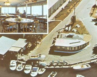 Balbuzard pêcheur en Floride la Flying Bridge Restaurant Blackburn Point Rd Photo carte postale