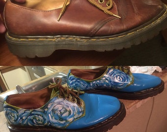 Bespoke painted shoes! Custom painted shoes!