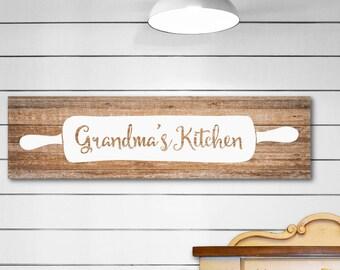 Grandmas Gift, Grandmas Kitchen, Grandma Kitchen Sign, Grandma Gift, Grandma Kitchen Gift, Grandma Kitchen Decor, Grandma Kitchen Wood Sign