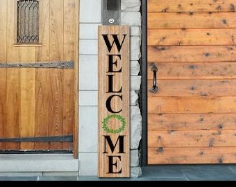 Welcome Sign, Front Door Signs, Welcome Wood Sign, Welcome Door Sign, Front Porch Sign, Welcome Outdoor Sign, Front Porch Decor, Welcome