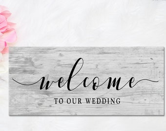 Wedding Props Sign, Welcome to our Wedding Sign, Wedding Decor, Wedding Props, Wedding Sign, Rustic Wedding Props, Rustic Wedding Signs