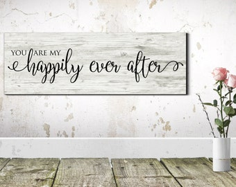 Happily Ever After Sign, Wedding Signs, And They Lived Happily Ever After Sign, Wedding Prop Signs, Happily Ever After, Wedding Decor