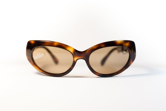 e2ab12be4c SAFILO SFINGE 047 tortoise 80s original vintage sunglasses