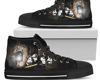 7e5fa505e9 Pink Floyd Dark Side Of the Moon - The Wall Marching Hammers High Top Shoes  Limited Edition  - Dark Side Of the Moon