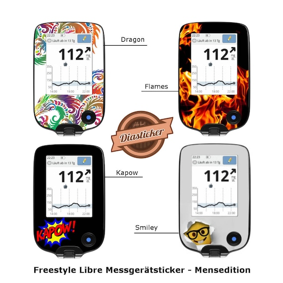 Freestyle Libre Sticker For The Meter Mensedition