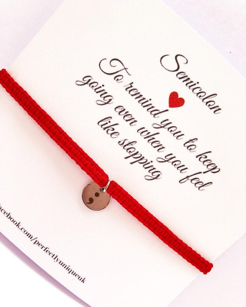 survivor gifts Survivor bracelet warrior gifts mental health gifts mental health bracelets charm macrame bracelet charm bracelet