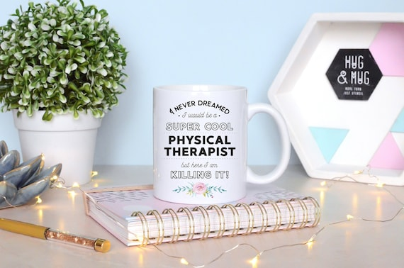 Physical Therapy Gift For Therapist Gift Ideas Physical Therapist Gift Therapist Graduation Gift Physical Therapist Mug Therapist Superpower