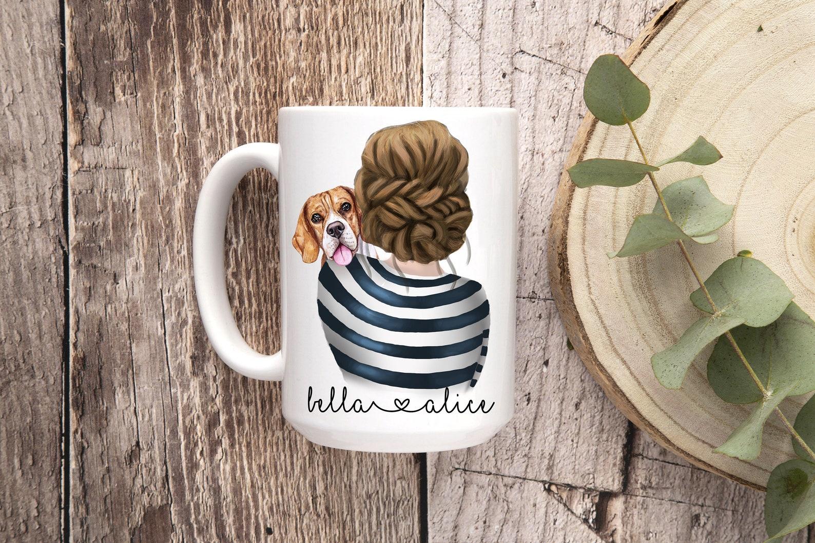Mug with beagle design