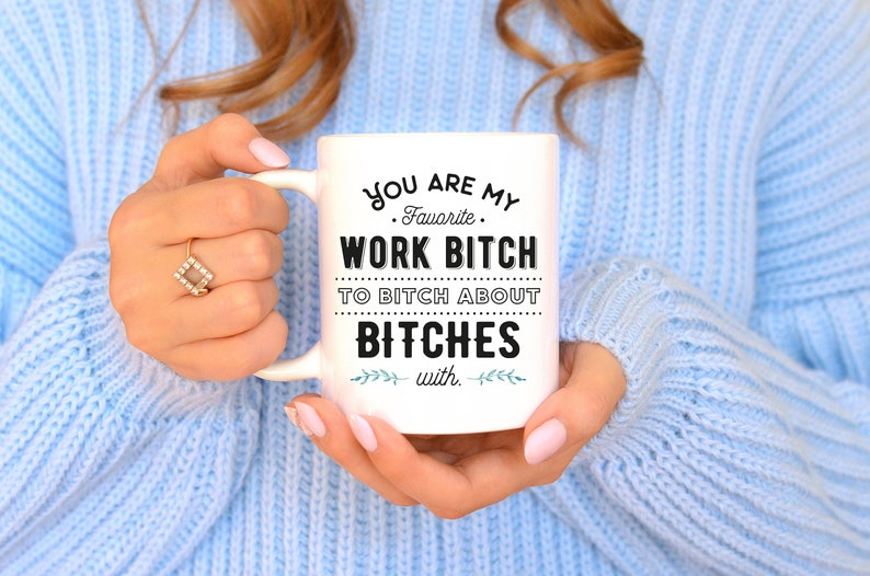 Funny Coworker Gift Unique Co Worker Mug Sassy
