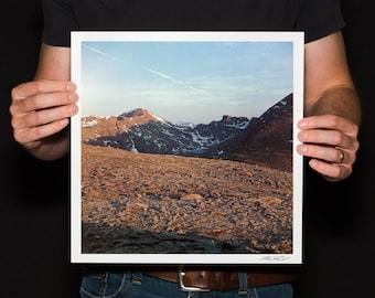 "Colorado 14ers Photo, Mount Bierstadt Print, Mount Evans Print, Mountain Print, Continental Divide Photo, Fine Art Photo, ""Fourteeners"""