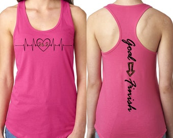 3a8bf72ab0a8f Choose Your Distance Workout Tank Top
